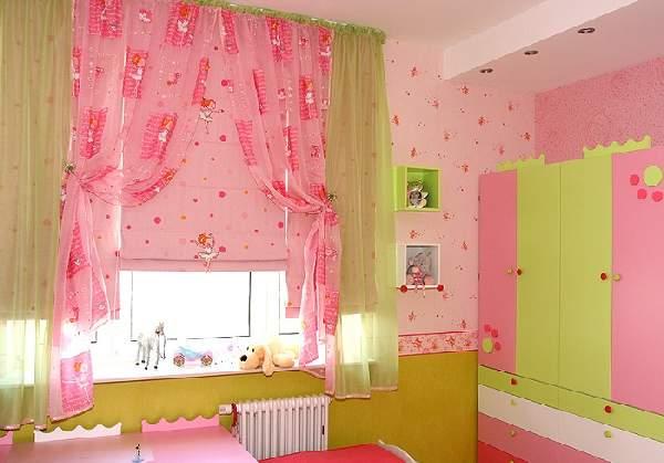 шторы в детскую комнату для девочки, фото 1