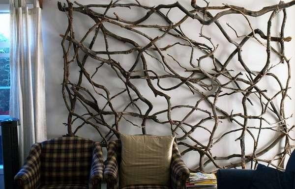 деревянное панно на стену в эко стиле, фото 32
