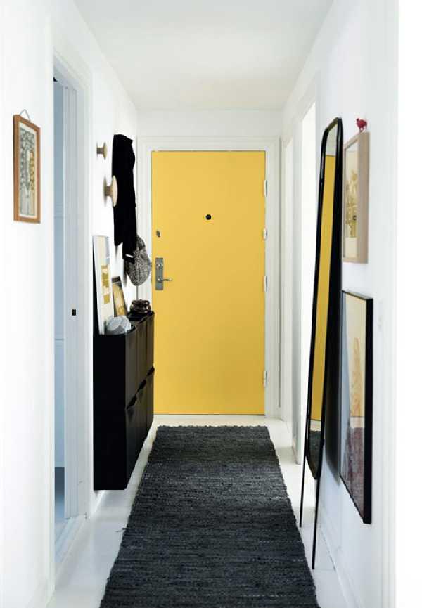 прихожая для узкого коридора, фото 10
