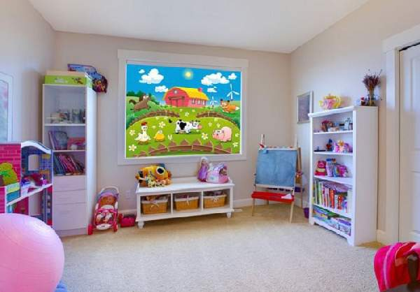 рулонные шторы в детскую комнату фото, фото 21