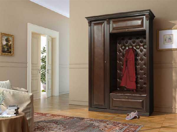 классические прихожие в коридор, фото 103