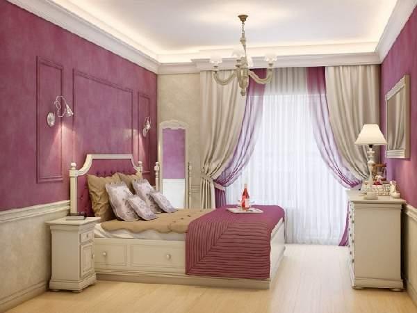лучшие натяжные потолки для спальни, фото 41