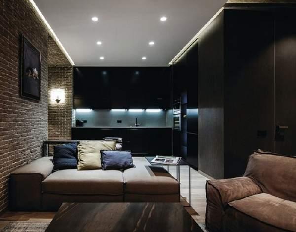 натяжной потолок в спальне, фото 42