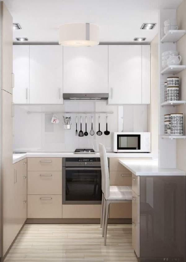 кухонный гарнитур для маленькой кухни, фото 31
