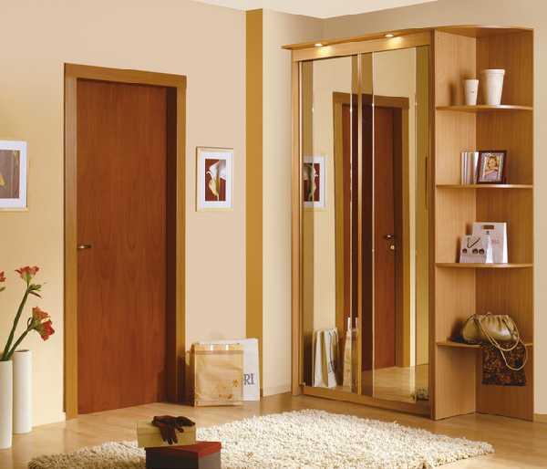 прихожая для узкого коридора, фото 12