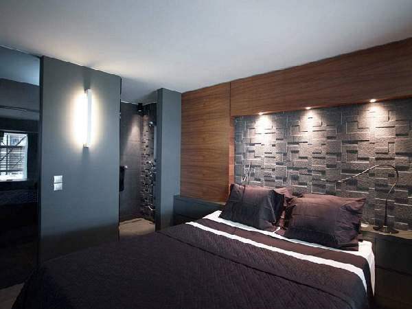 натяжной потолок с фотопечатью в спальне, фото 43