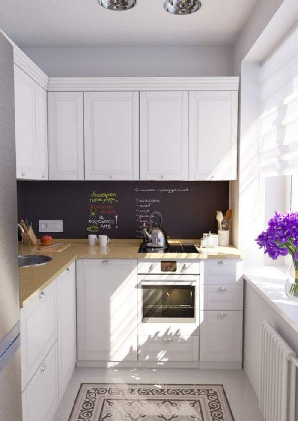 кухонный гарнитур для маленькой кухни фото, фото 32