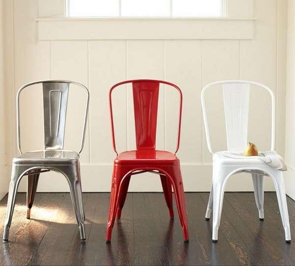 дизайнерские металлические стулья, фото 42