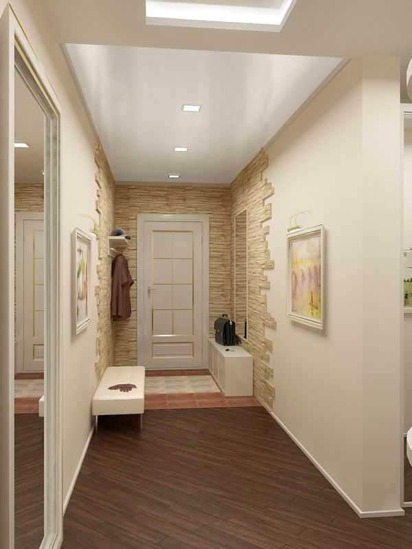 прихожая для узкого коридора, фото 14