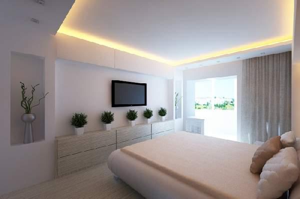 натяжные потолки 3д фото для спальни, фото 45