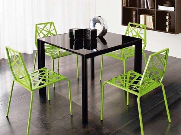 дизайнерские металлические стулья, фото 43