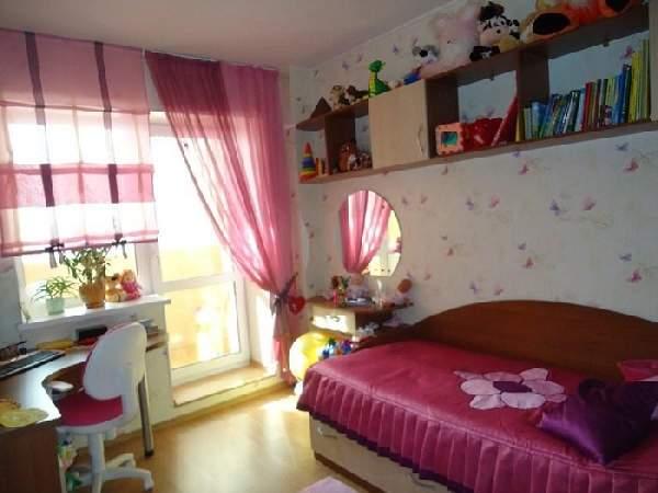 шторы с балконной дверью в детскую комнату, фото 4