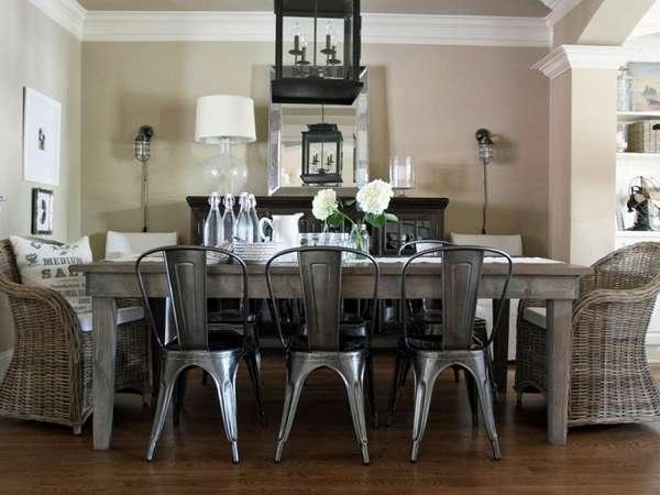 дизайнерские металлические стулья, фото 44