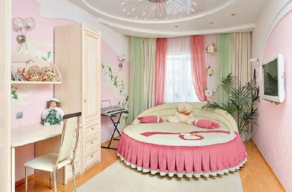 готовые шторы в детскую комнату для девочки, фото 5