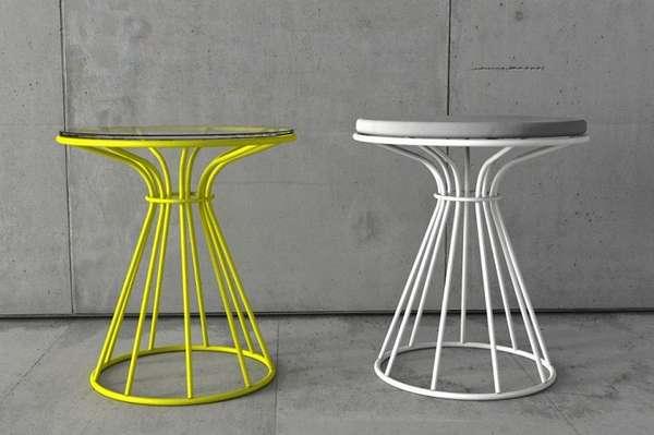 дизайнерские металлические стулья, фото 45
