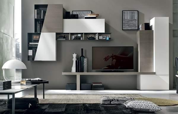 модульная стенка в гостиную в современном стиле фо, фото 39