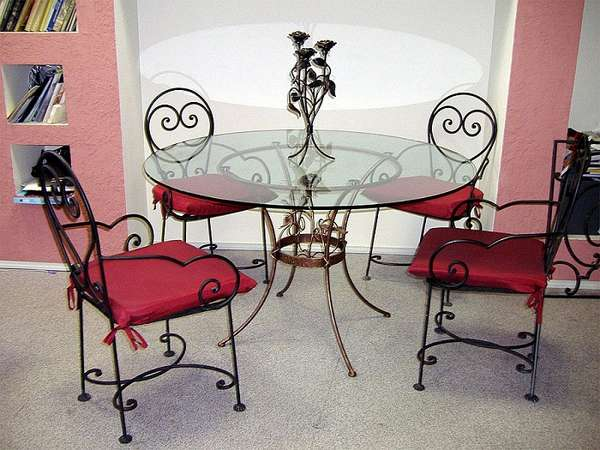 дизайнерские металлические стулья, фото 46