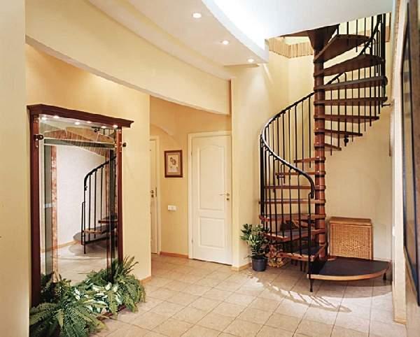 дизайн прихожей с лестницей, фото 19