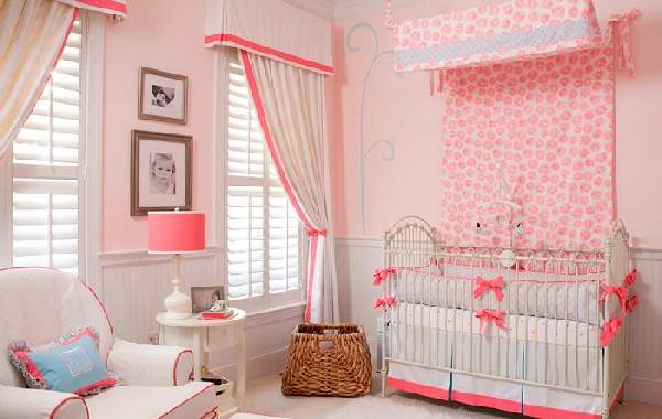зонирование шторами детской комнаты, фото 8