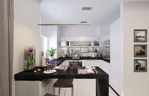 белый кухонный гарнитур, фото 16