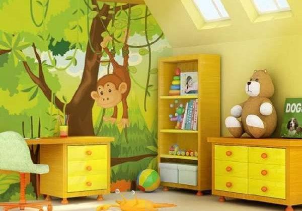 Фотообои в детскую комнату для мальчиков и девочек