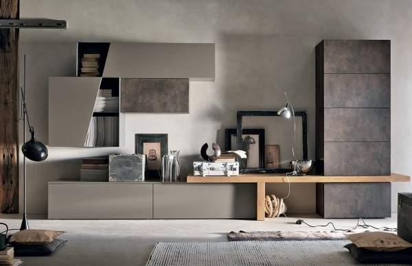 красивые стенки в гостиную в современном стиле, фото 40