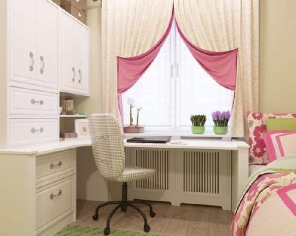 короткие шторы в детскую комнату фото, фото 10
