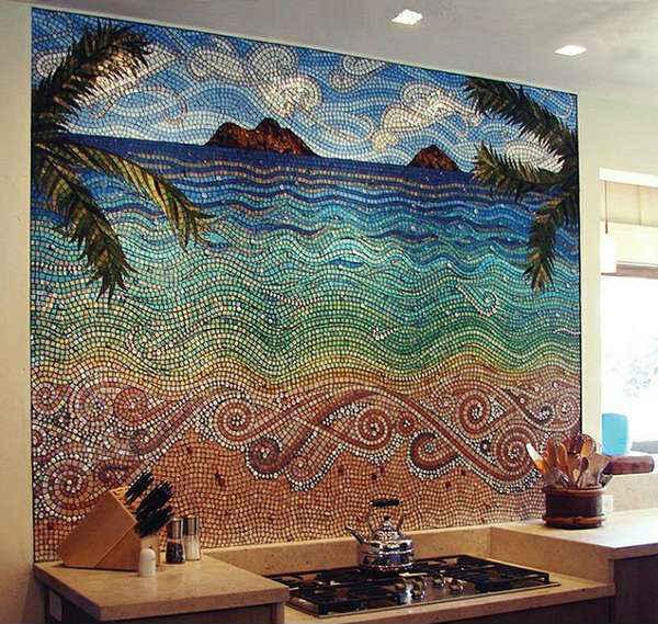 мозаичное панно на стену, фото 21