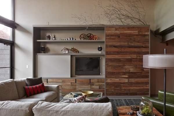 мини стенка в гостиную в современном стиле, фото 31
