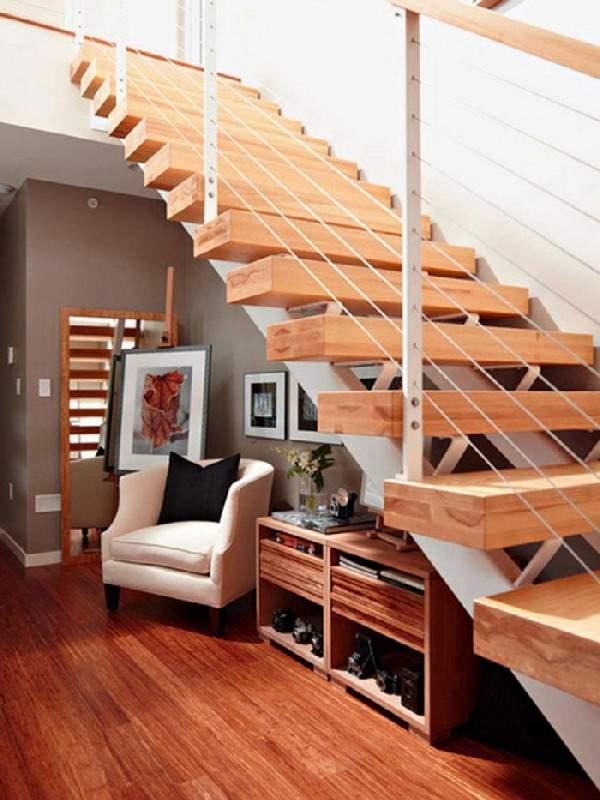 дизайн прихожей с лестницей, фото 23
