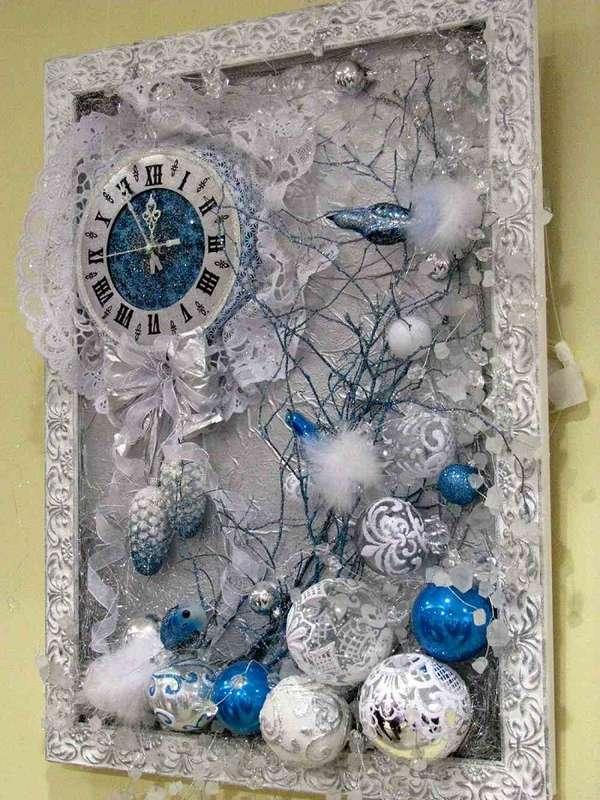 новогоднее панно на стену, фото 22