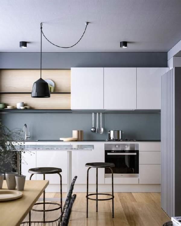 угловой кухонный гарнитур размеры, фото 43