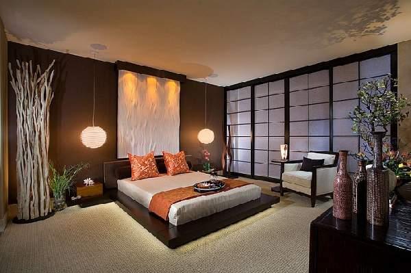 матовый натяжной потолок в спальне, фото 7
