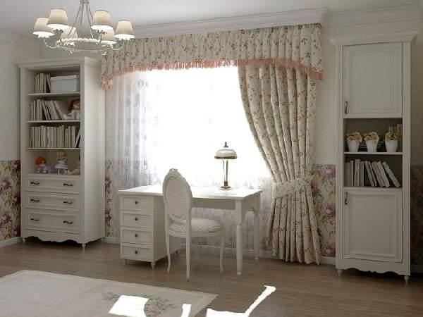 шторы в детскую комнату для девочки подростка, фото 27