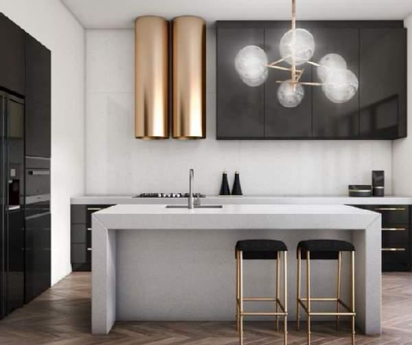 кухонный гарнитур угловой для кухни, фото 44