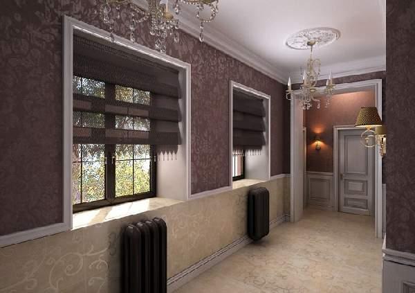 дизайн прихожей с окном, фото 26