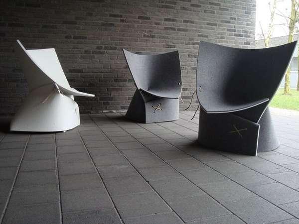 дизайнерские офисные стулья, фото 4