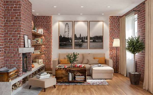 панно на стену лофт, фото 44