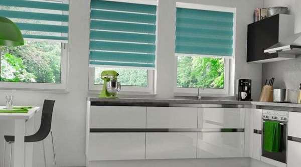 римская штора на кухню фото, фото 3