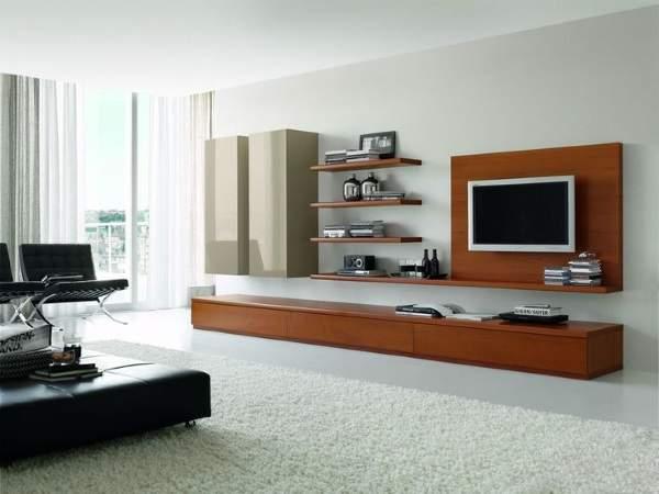 стенка горка в гостиную в современном стиле, фото 48