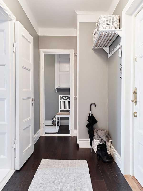 компактные прихожие в маленький коридор, фото 35