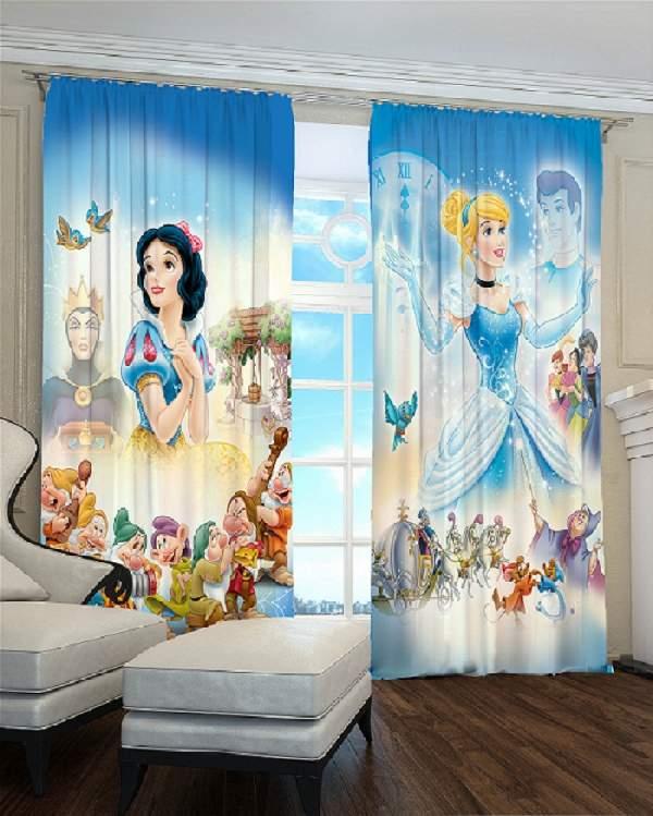 шторы в детскую комнату для девочки фото, фото 13