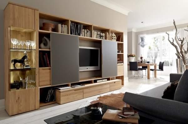 большая стенка в гостиную в современном стиле, фото 24