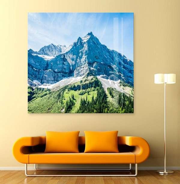 стеклянное панно на стену, фото 8