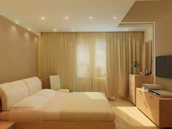 натяжной потолок для маленькой спальни, фото 32