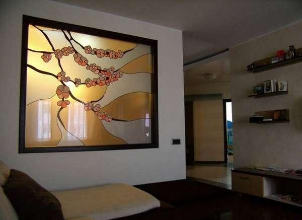 стеклянное панно на стену, фото 9
