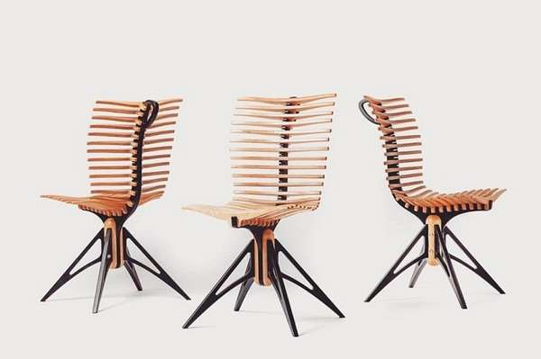 дизайнерский стул скелетон, фото 50