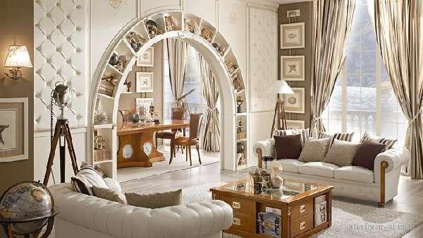 декоративные перегородки из гипсокартона, фото 10