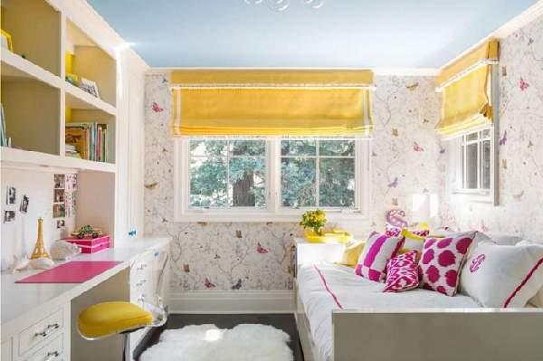 римские шторы в детскую комнату, фото 15