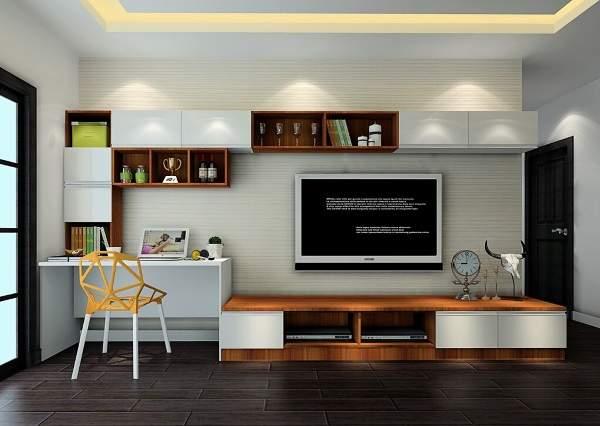 стенка горка в гостиную в современном стиле, фото 50